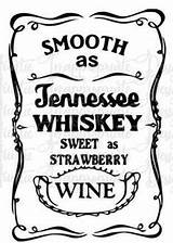 Whiskey Svg Smooth Stencil Tennessee Silhouette Printing Vinyl Patterns Screen Cutting Digital Tenessee Strawberry Wine Sweet Cricut sketch template