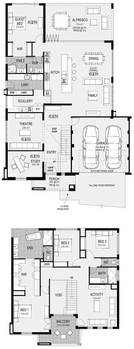 Georgia Platinum floorplan: take our guest and replace