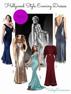 Old Hollywood Dresses - 1930s 1940s 1950s | Hollywood glamour dress Hollywood glamour and 1930s