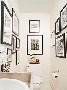 Wandgestaltung Gäste Wc : die besten 17 ideen zu g ste wc dekoration auf pinterest halbes badezimmer dekor und graues ~ Markanthonyermac.com Haus und Dekorationen