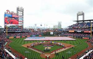Opening Day schedule of events at Citizens Bank Park for ...