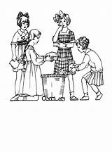 Coloring 1920s Children Pages 1920 1910 Edwardian Costume Clothes Colouring History Fashions Little Drawings Outfits Dress 1915 Printable Era Getcolorings sketch template