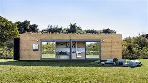 shipping container house dwell boxes this eco friendly shipping container is the ultimate Hightree