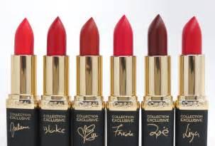 red lipstick for all l 39 oréal paris colour riche collection exclusive pure reds lipcolour