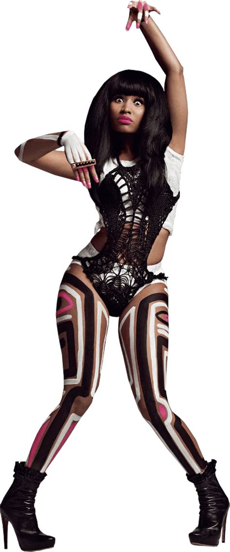 nicki minaj transparent background  png images