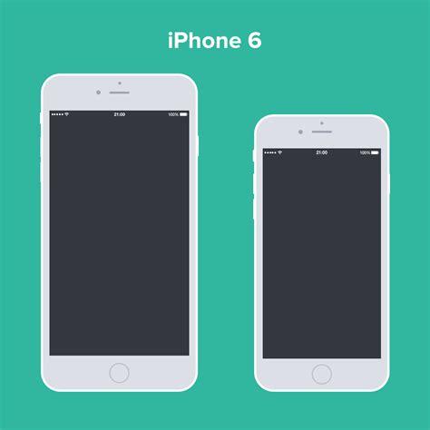 Iphone Mockup Psd Free Psd Iphone 6 Flat Design Mockup Mockup