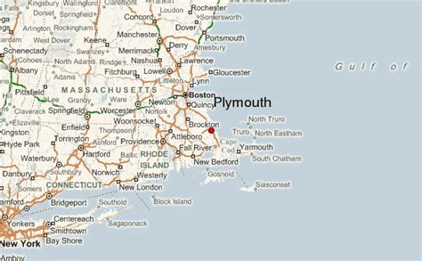 Plymouth, Massachusetts Location Guide