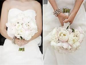 White strapless wedding dress ivory and blush pink peony for White or ivory wedding dress