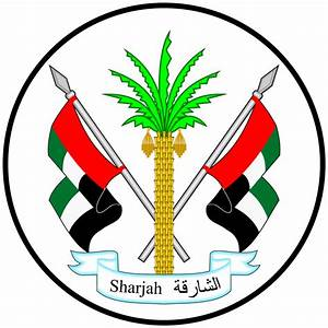 File Coat Of Arms Of Sharjah Svg