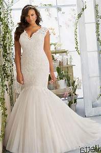 Plus size wedding dress designer pluslookeu collection for Plus size wedding dress designers