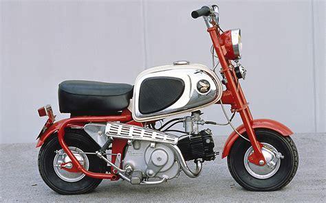 Classic Honda Monkey by Honda Monkey Geliebtes Kultbike Im Bonsai Format