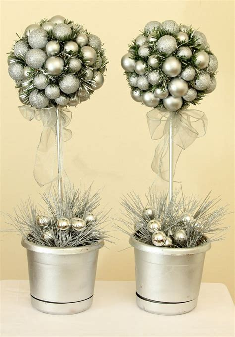 topiary decorations holiday decor pinterest