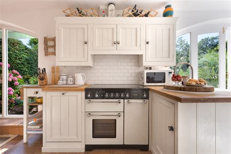 White Beadboard Kitchen Cabinets Kitchen Traditional With