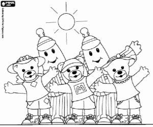 coloriage divers personnages de bd  imprimer