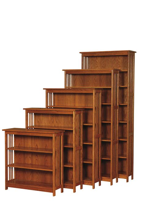 country mission bookcase amish furniture