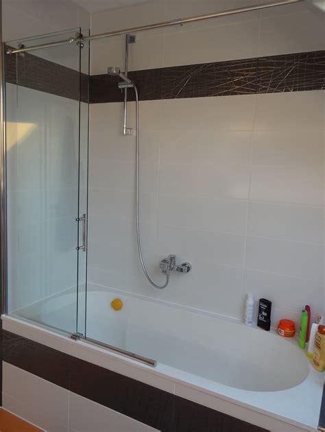 Duschabtrennung Für Badewanne Glas by Duschabtrennung Schiebet 252 R Auf Badewanne