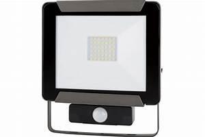 Projecteur Led Detecteur : projecteur led 20 w 4000 k avec d tecteur lited 832581 ~ Carolinahurricanesstore.com Idées de Décoration