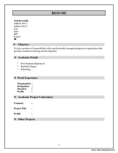 11223 simple resume format for freshers doc simple resume format word file free resume