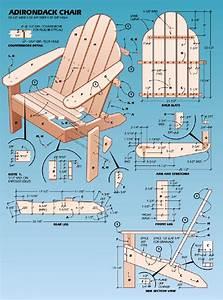 Woodworking Plans Adirondack Chair Plans Templates PDF Plans