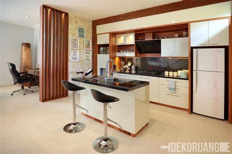desain kitchen set minimalis  cocok  rumah