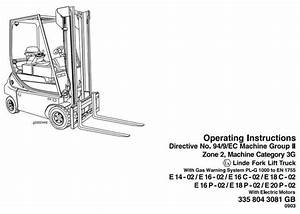 1000  Images About Linde Instructions  Manual On Pinterest