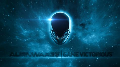 Alienware Logo Blue 4k Uhd Wallpaper #836