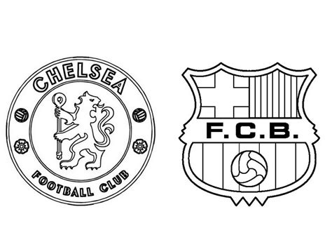 Kleurplaat Barcelona Messi by Fc Barcelona Logo Coloring Pages Sketch Coloring Page