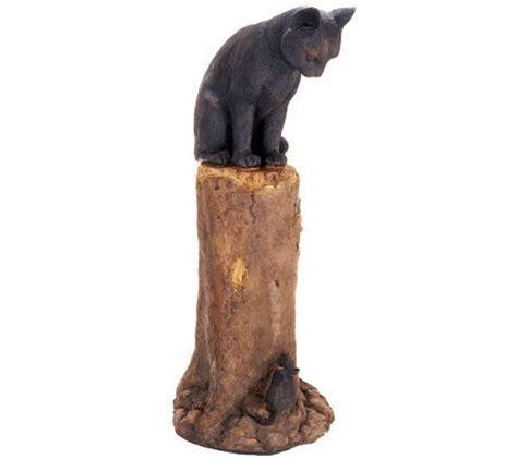 plow hearth cat  mouse garden statue  qvccom