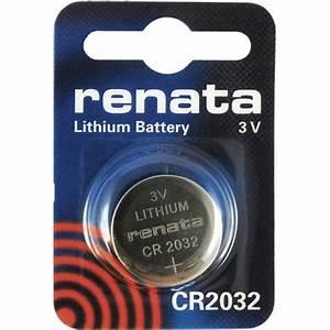 Pile Bouton Cr2032 : renata pile bouton lithium cr2032 standard batli09 ~ Melissatoandfro.com Idées de Décoration