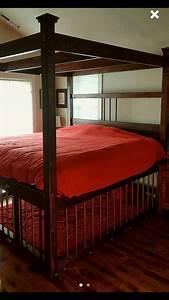 King Size Bondage Bed With Cage By JANMARBEDSANDBONDAGE On
