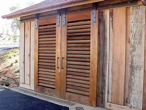 Northstar woodworks custom louver doors craftsmanship for Exterior wood louvered doors
