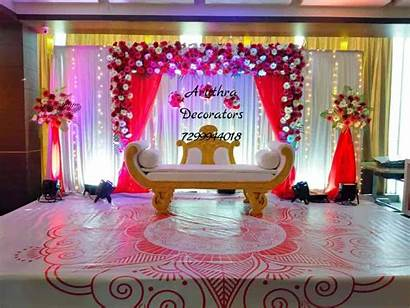 Stage Decoration Simple Anniversary Chennai Decorators Birthday
