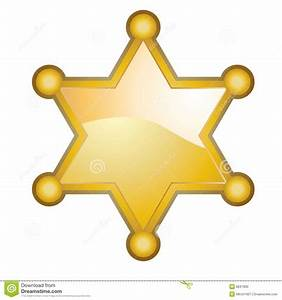 Sheriff Officer Badge Clipart - Clipart Suggest