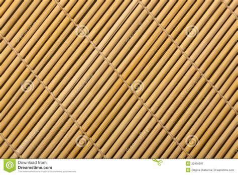 couvre tapis en bambou photographie stock libre de droits