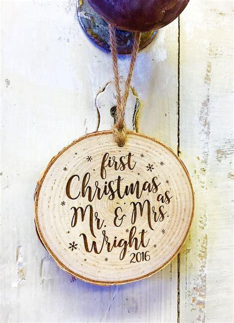 beautiful customized keepsake newlywed christmas