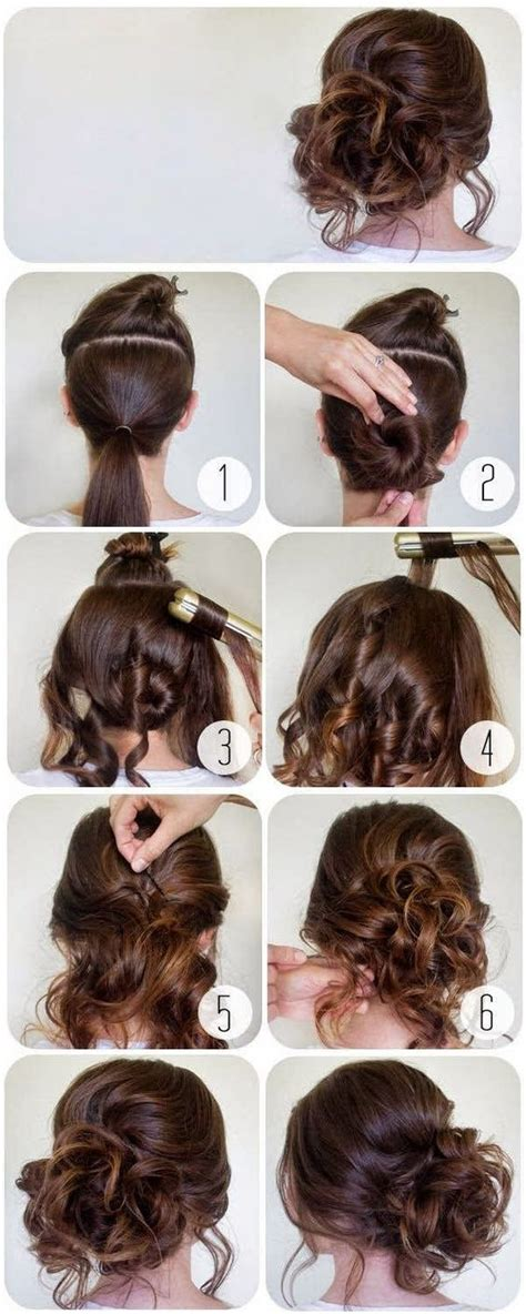 Hairstyle For Step By Step by 60 Easy Step By Step Hair Tutorials For Medium