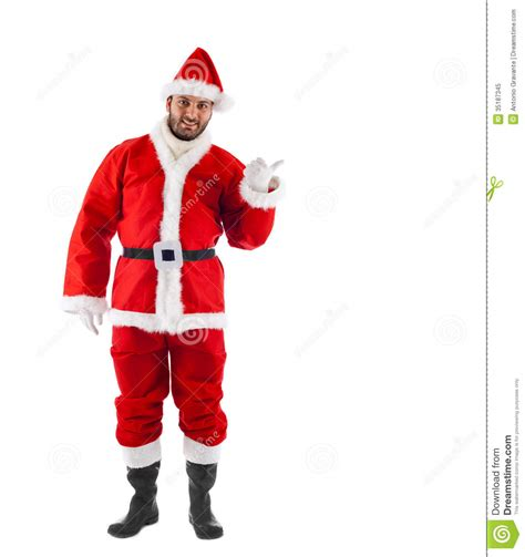 santa claus standing royalty free stock photo image