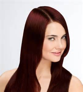 Mahogany Red Brown Hair Color