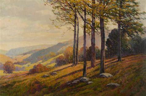 burton landscape burton sinclair valley landscape painting