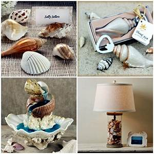 Maritime decoration make with shells themselves – 15 craft