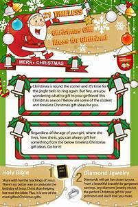 Top 5 Christmas Gift Ideas Infographics