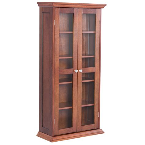 kitchen cabinet doors for costway costway 44 5 wood media storage cabinet cd dvd 7808