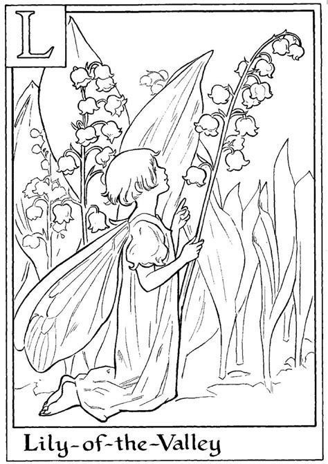 214 best images about Fairies Coloring pages on