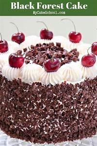 Black Forest Cake Recipe from Scratch   My Cake School