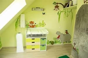 Wandbemalung Kinderzimmer Ideen