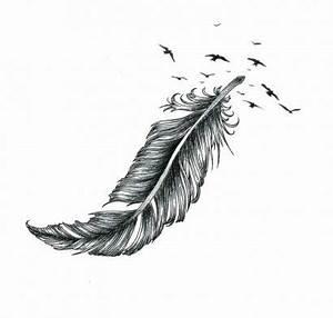 Signification Plume Noire : tatouage plume id es inspirantes de tatouage et signification ~ Carolinahurricanesstore.com Idées de Décoration