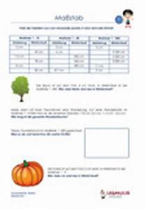 Maßstab Berechnen Grundschule : mathematik arbeitsbl tter bungen textaufgaben ma stab ~ Themetempest.com Abrechnung