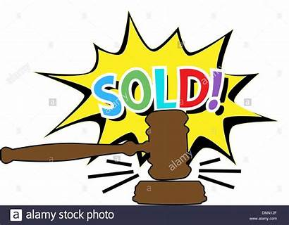 Clipart Auction Cartoon Gavel Bidding Icon Chinese