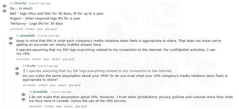 canada reddit user providers vpn privacy discussion read