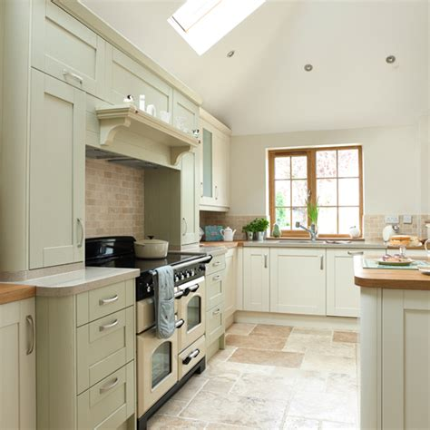 Sage Green And Cream Kitchen  Kitchen Decorating  Ideal Home